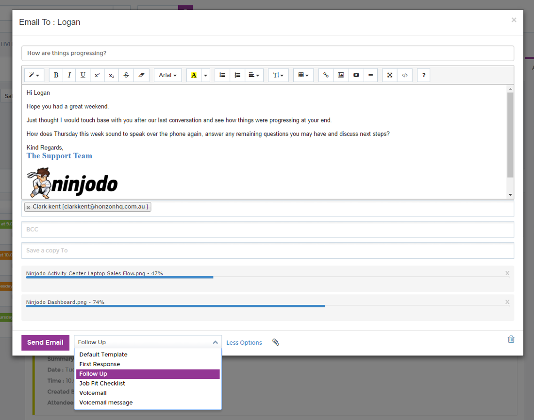 Ninjodo - Enhanced Contact Management