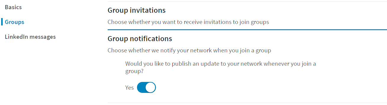 LinkedIN no notifications