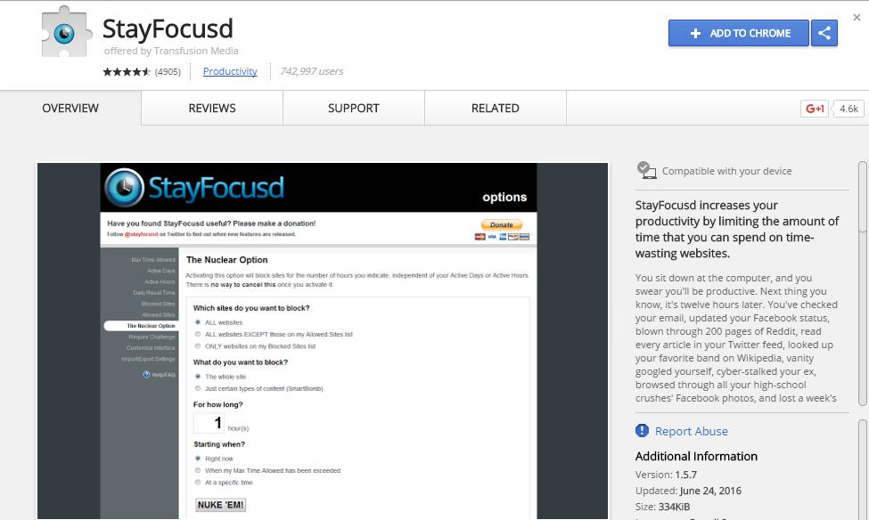 Stay-Focusd
