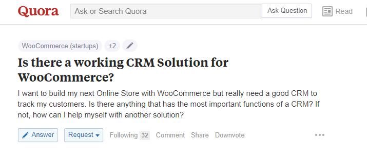 Get free leads Quora