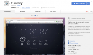 Currently-Google-Chrome-Extension