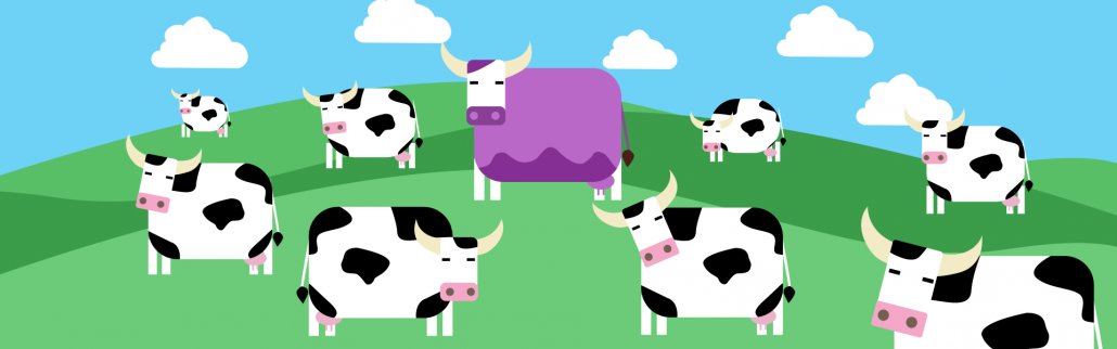 Differentiate From Competition Purple Cow
