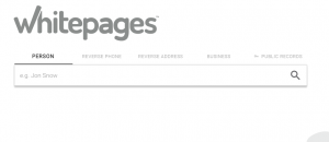 find email address Whitepages