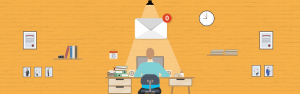 Inbox Zero Illustration