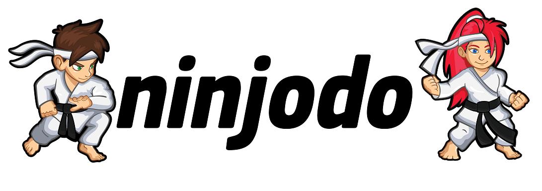 Ninjodo Logo Guy and Girl