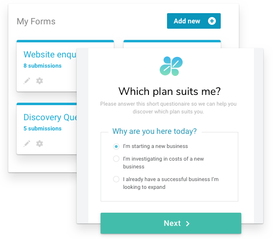 Digital Forms with CRM integration